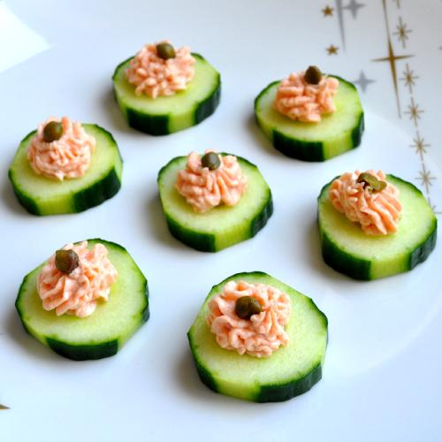 Anirik 01 for Salmon canape ideas