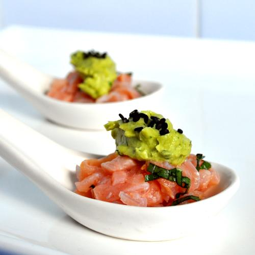 Salmon Tartare Asian Salmon Tartare With Avocado