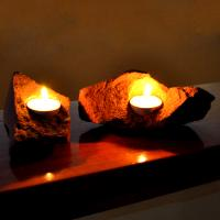 Fire, Two Piece Red Sandstone Set